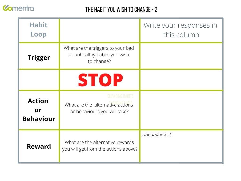 Habit Loop Grid 2